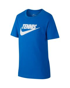 TSHIRT JUNIOR NIKE GRAPHIC CJ7758 481 BLEU