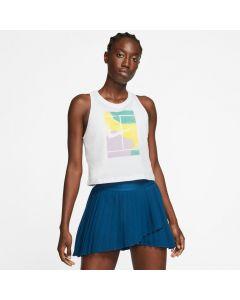 DEBARDEUR TENNIS FEMME NikeCourt BLANC CT4376