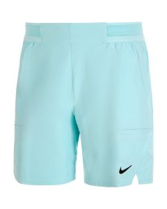 SHORT HOMME NIKE COURT FLEX ADVANTAGE CV5046 482 BLEU