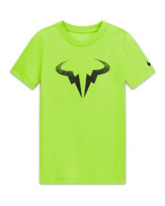 TSHIRT JUNIOR NIKECOURT DRI FIT RAFA CW1521 702 JAUNE