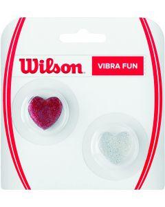 WILSON ANTIVIBRATEUR VIBRA FUN COEUR LOT DE 2 WRZ537100