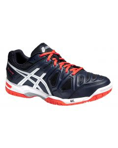 CHAUSSURES DE TENNIS HOMME ASICS GEL GAME 5 E506Y 5001 BLEU/ORANGE