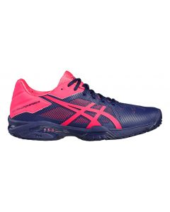 CHAUSSURES ASICS FEMME GEL SOLUTION SPEED 3 E650N 4920 MARINE/ROSE