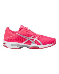CHAUSSURES DE TENNIS FEMME ASICS GEL SOLUTION SPEED 3 CLAY E651N 1993 ROSE