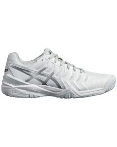 CHAUSSURES DE TENNIS HOMME ASICS GEL RESOLUTION 7 E701Y 0193 BLANC