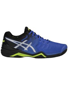 CHAUSSURES HOMME ASICS GEL RESOLUTION 7 CLAY E702Y 407 BLEU