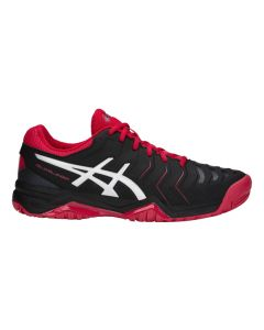 CHAUSSURES ASICS GEL CHALLENGER 11  E703Y 001 NOIR/ROUGE
