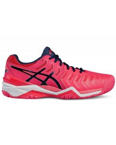 CHAUSSURES DE TENNIS FEMME ASICS GEL RESOLUTION 7 E751Y 0193 BLANC