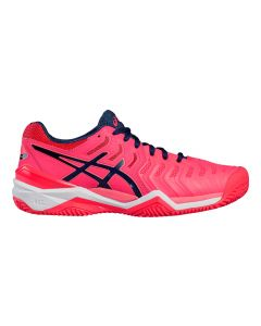 CHAUSSURES FEMME ASICS GEL RESOLUTION 7 CLAY E752Y 2049 ROSE