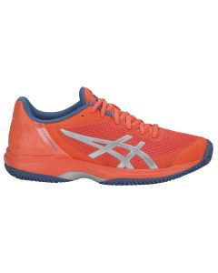 CHAUSSURES DE TENNIS FEMME ASICS GEL COURT SPEED CLAY E851N 709 CORAIL