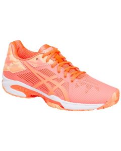 CHAUSSURES DE TENNIS FEMME ASICS GEL SOLUTION SPEED 3 CLAY L.E E854N 0630 CORAIL