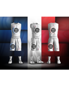 ENSEMBLE DE BASKET JUNIOR 100% SUBLIME LE FRENCH MADE IN FRANCE SHORT+MAILLOT