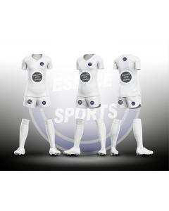 ENSEMBLE SUBLIME FEMME ESPACE SPORTS FOOTBALL MAILLOT+SHORT+CHAUSSETTES non sublimées