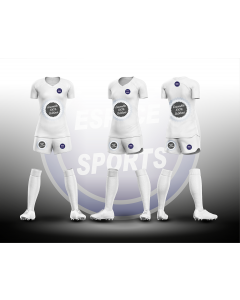 ENSEMBLE SUBLIME ESPACE SPORTS GAMME BRONZE FOOTBALL FEMME MAILLOT + SHORT