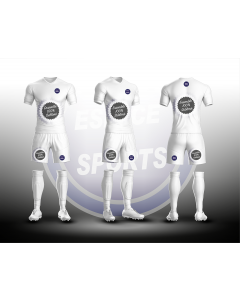 ENSEMBLE SUBLIME JUNIOR ESPACE SPORTS FOOTBALL MAILLOT+SHORT+CHAUSSETTES non sublimées