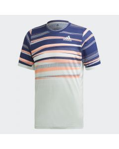TSHIRT TENNIS ADIDAS HOMME FREELIFT HEAT READY FK0803