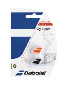 ANTIVIBRATEUR BABOLAT FLAG DAMP x2 700032 189 NOIR ROUGE