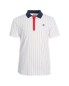 POLO HOMME FILA CLUB STRIPES FRM131011 BLANC