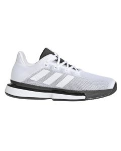 CHAUSSURES HOMME ADIDAS SOLEMATCH BOUNCE G26602 BLANC
