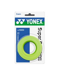SURGRIP YONEX SUPER GRAP x3 AC102EX VERT CITRON