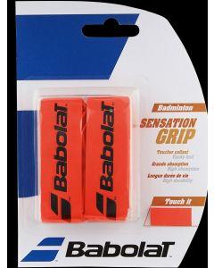 GRIP BABOLAT SENSATION BADMINTON 670064 201 FLUO RED