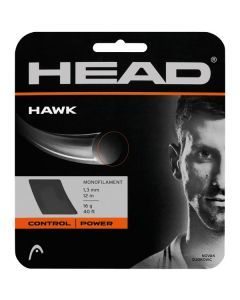 CORDAGE DE TENNIS HEAD HAWK GARNITURE ISSUE DE BOBINE 12M