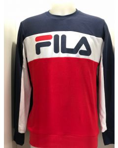 SWEAT JUNIOR FILA SWEATER RANDY KIDS BLEU 182030 502