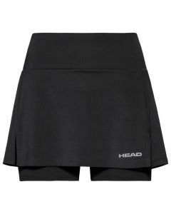 JUPE JUNIOR FILLE HEAD CLUB BASIC SKORT 816459 NOIR