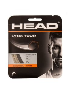 CORDAGE DE TENNIS HEAD LYNX TOUR 281790 CHAMPAGNE GARNITURE 12M