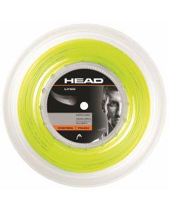 BOBINE DE CORDAGE HEAD LYNX JAUNE 200M