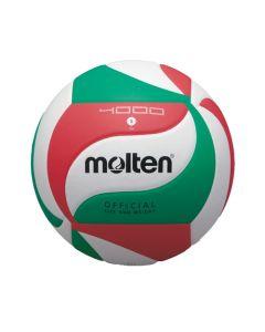 MOLTEN VOLLEY COMPET V5M4000 BLANC/ROUGE/VERT