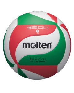 BALLON VOLLEYBALL MOLTEN VOLLEY COMPET V5M3500 LNV BLANC/ROUGE/VERT