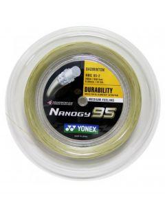 CORDAGE DE BADMINTON YONEX NANOGY 95 BOBINE 200M