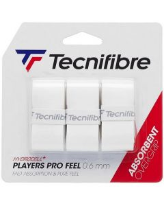 SURGRIP TECNIFIBRE PLAYERS PRO FEEL x3 BLANC