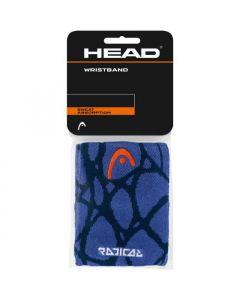 POIGNET EPONGE HEAD RADICAL x2 285118 MARINE VIOLET
