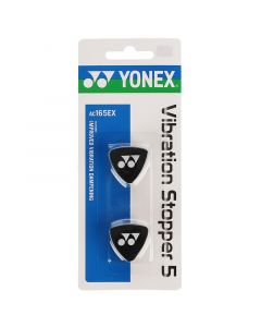 ANTIVIBRATEUR YONEX VIBRATION STOPPER 5 LOT DE 2 AC165EX NOIR
