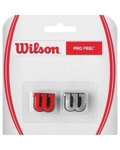 ANTIVIBRATEUR WILSON PRO FEEL x2 WRZ537600 ROUGE ARGENT