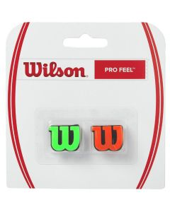 ANTIVIBRATEUR WILSON PRO FEEL x2 WRZ538700 ORANGE VERT