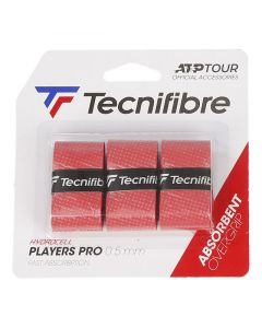 SURGRIPS TECNIFIBRE PRO PLAYERS ROUGE LOT DE 3