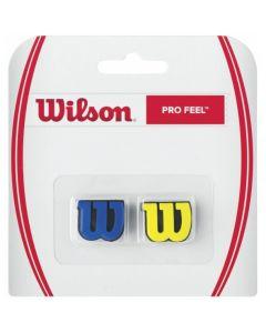 ANTIVIBRATEUR WILSON PRO FEEL BLEU/JAUNE WRZ537700