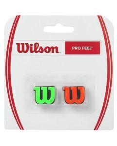 ANTIVIBRATEUR WILSON PRO FEEL VERT/ORANGE WRZ538700