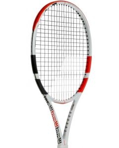 RAQUETTE DE TENNIS BABOLAT PURE STRIKE JUNIOR 26 2019 CORDEE 140401 BLANC/ROUGE