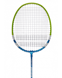 RAQUETTE DE BADMINTON  BABOLAT JUNIOR MINI BAD JAUNE/BLEU