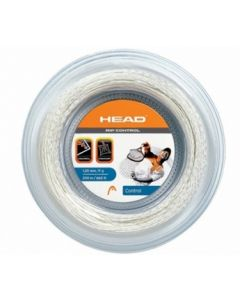 CORDAGE DE TENNIS HEAD RIP CONTROL GARNITURE ISSUE DE BOBINE 12M BLANC
