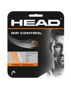 CORDAGE DE TENNIS HEAD RIP CONTROL GARNITURE ISSUE DE BOBINE 12M ORANGE