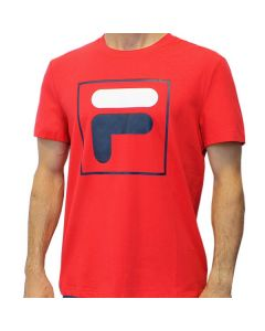 TEE SHIRT JUNIOR FILA ROBIN  flu182011 ROUGE