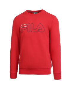 SWEAT HOMME FILA ROCCO FLU192031 500 ROUGE