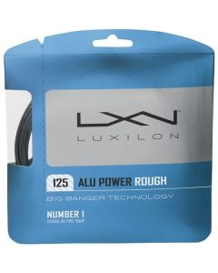 LUXILON BIG BANGER ALU POWER ROUGH CORDAGE TENNIS GARNITURE 12M