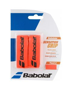GRIP BADMINTON BABOLAT SENSATION x2 670064 201 ROUGE FLUO