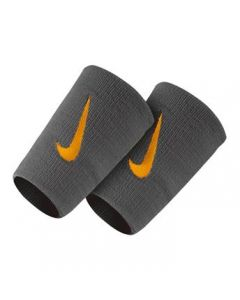 SERRE POIGNETS NIKE DOUBLE LARGEUR N0002466 074 ANTHRACITE-LOGO DORE